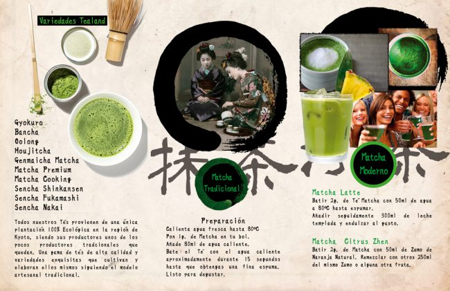 Matcha cooking